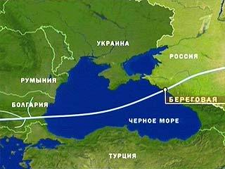 """""""Газпром"""" начнет строительство """"Южного потока"""" в 2013 году"""